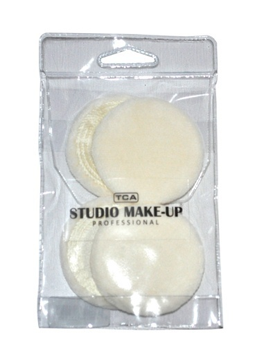 Tca Studio Make Up Pressed Powder Puff 4 Lu Renkli